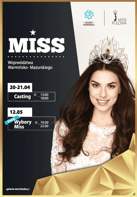 Casting do Miss Polonia Województwa Warmińsko - Mazurskiego 2018