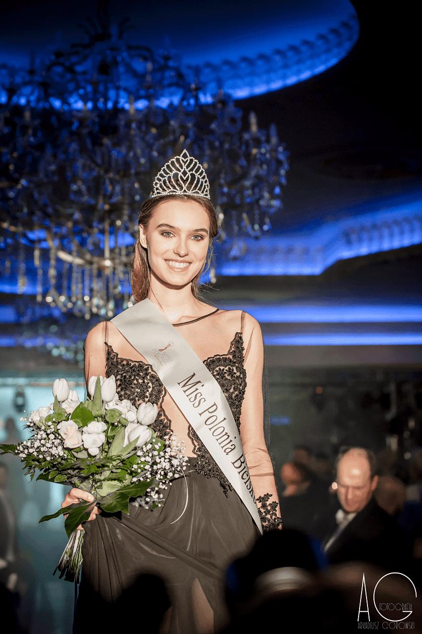 Małgorzata Mitura nową Miss Polonia Bielska - Białej 2017