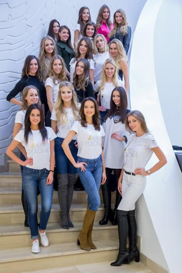 Zgrupowanie finalistek konkursu Miss Polonia w Hotelu Narvil