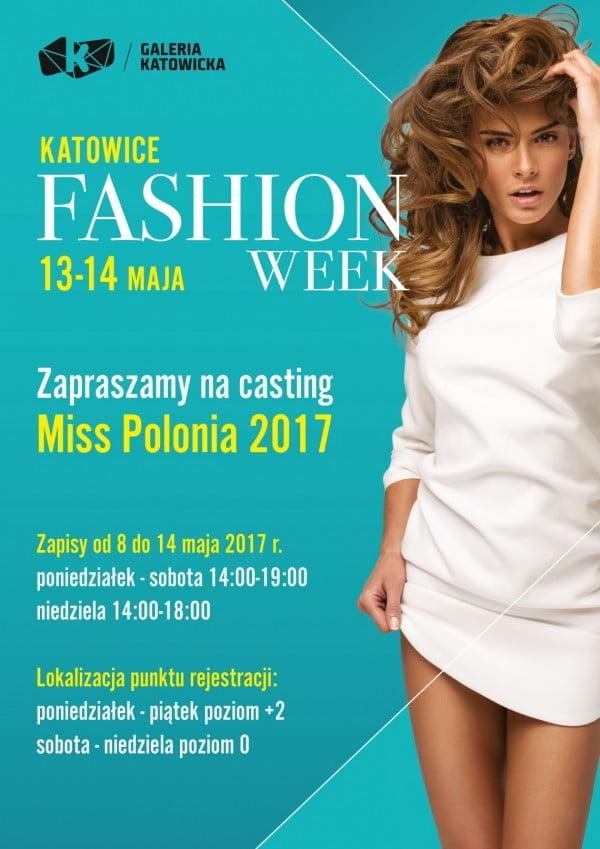 Casting do konkursu Miss Polonia 2017 w Katowicach