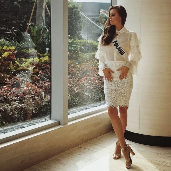 Izabella Krzan na zgrupowaniu Miss Universe na Filipinach