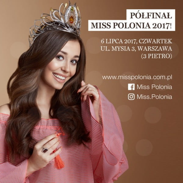 Przed nami półfinałowy casting Miss Polonia 2017