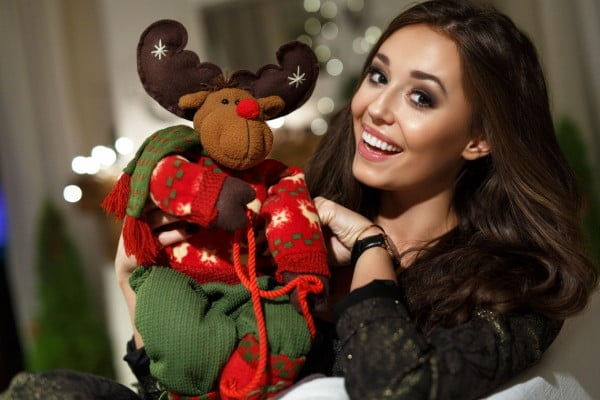 Świąteczne życzenia od Miss Polonia