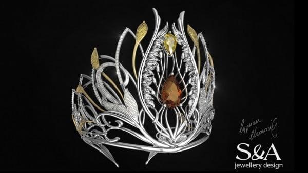 Projekt korony dla Miss Polonia 2016