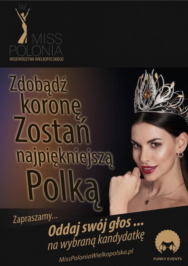 Zgłoszenia online do konkursu Miss Polonia Województwa Wielkopolskiego 2018