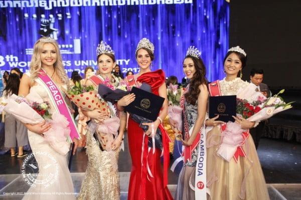 Kasia Szklarczyk została 4 Wicemiss Świata Studentek 2017