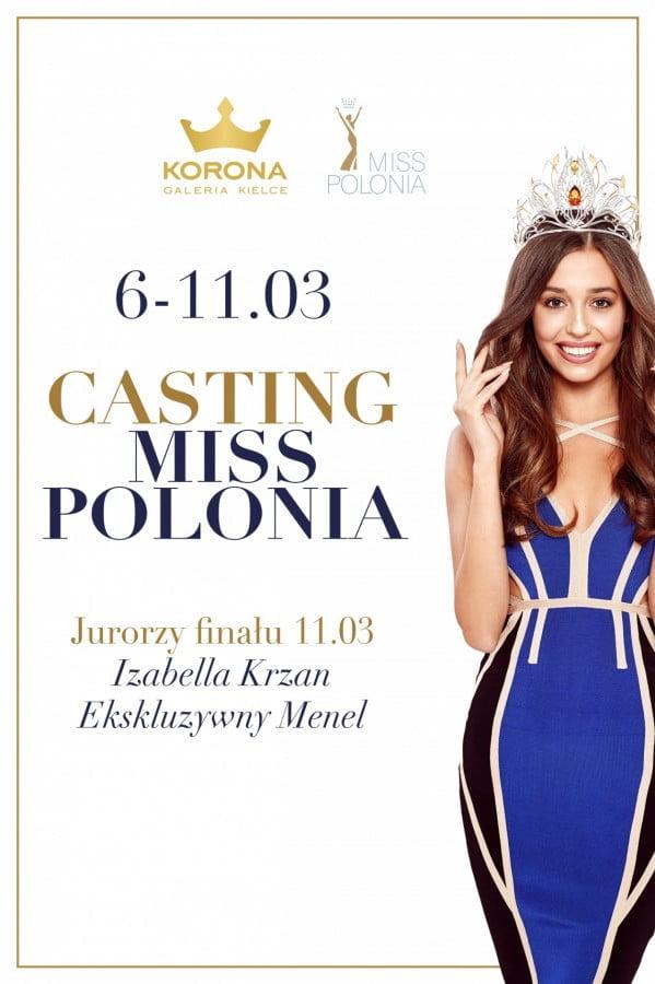 Casting Miss Polonia 2017 w Galerii Korona Kielce