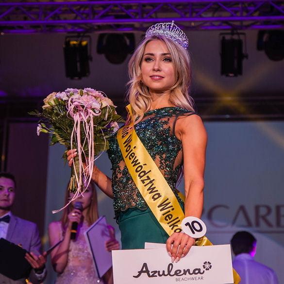 Natalia Stafińska została Miss Polonia Województwa Wielkopolskiego 2018