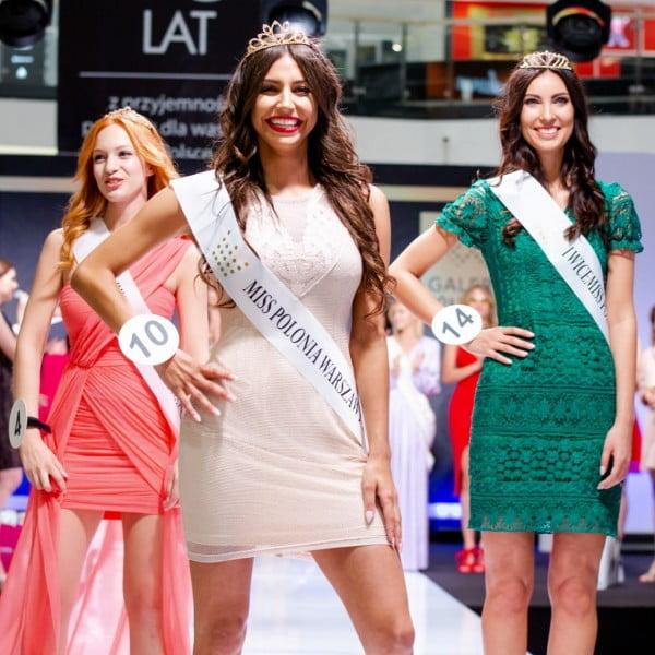 Magdalena Karwacka została Miss Polonia Warszawy 2018