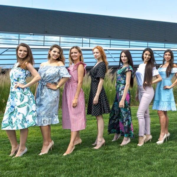 Finalistki konkursu Miss Polonia Warszawy 2018