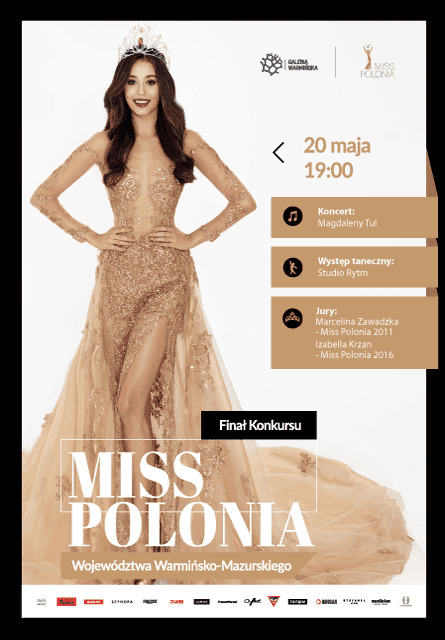 Gala finałowa Miss Polonia Województwa Warmińsko - Mazurskiego