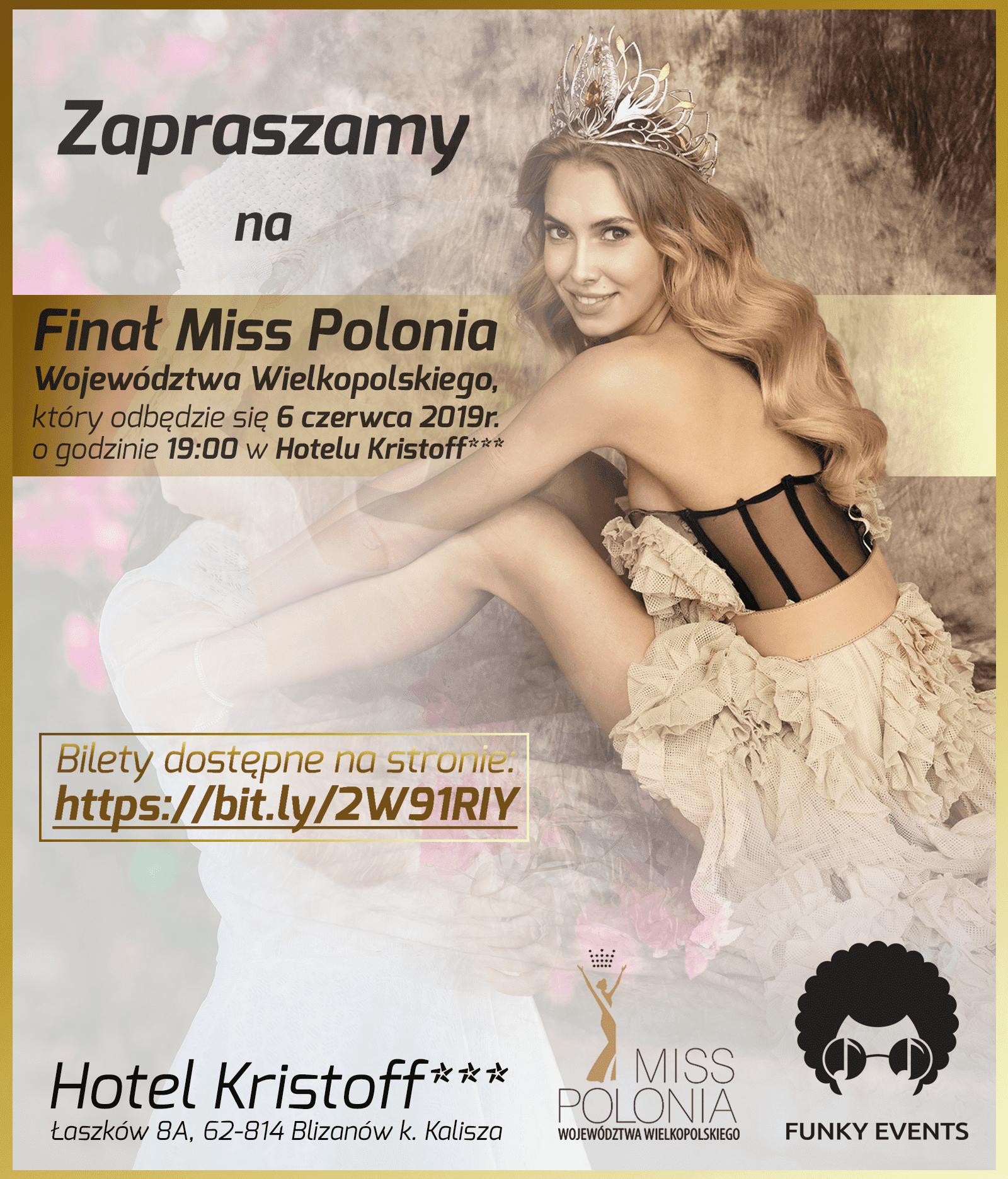 Finalistki Miss Polonia Województwa Wielkopolskiego 2019