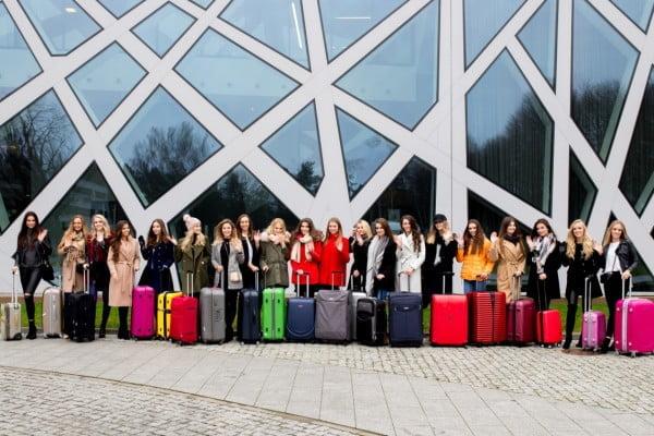 Zgrupowanie konkursu Miss Polonia w Hotelu Narvil Conference & Spa