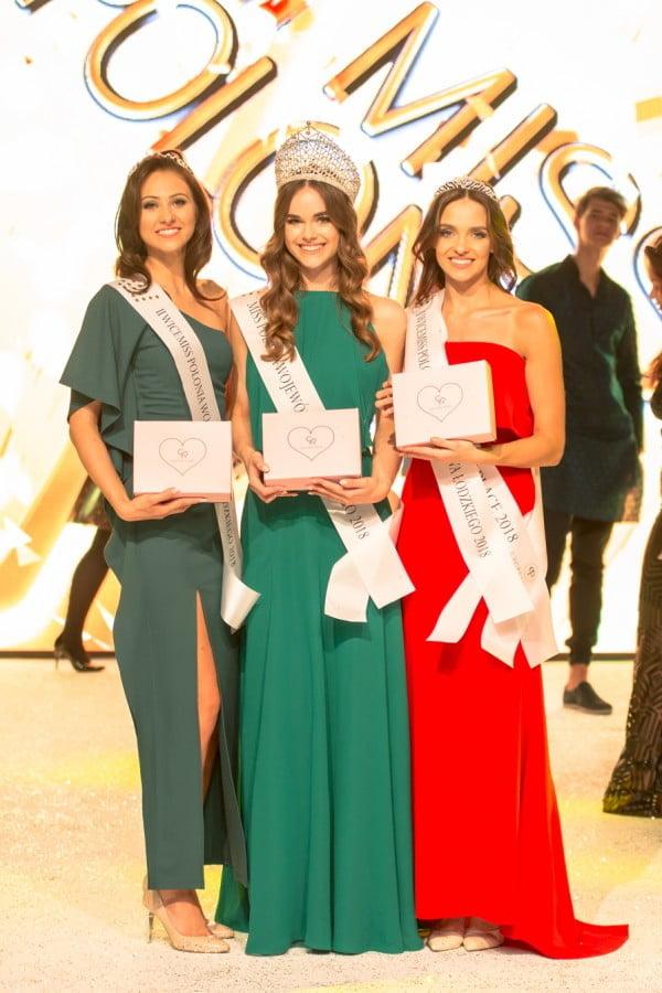 Natalia Zawiślak została Miss Polonia Województwa Łódzkiego 2018