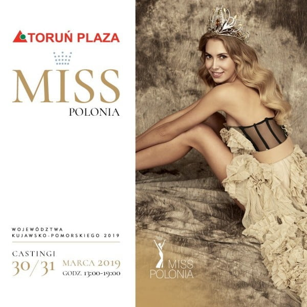 Zapraszamy na eliminacje do Miss Polonia Województwa Kujawsko-Pomorskiego
