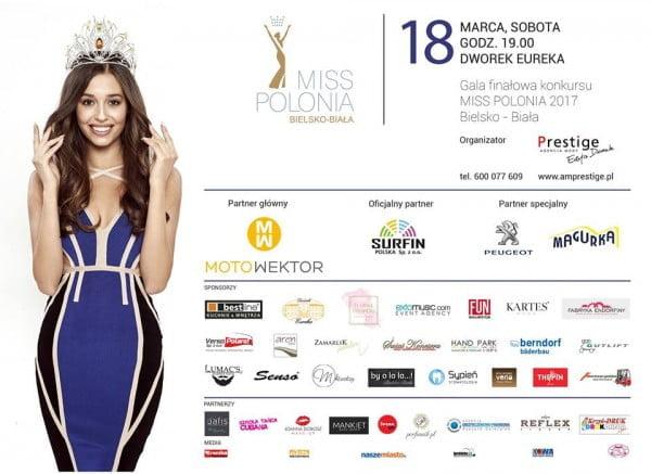 Przed nami finał konkursu Miss Polonia Bielsko - Biała