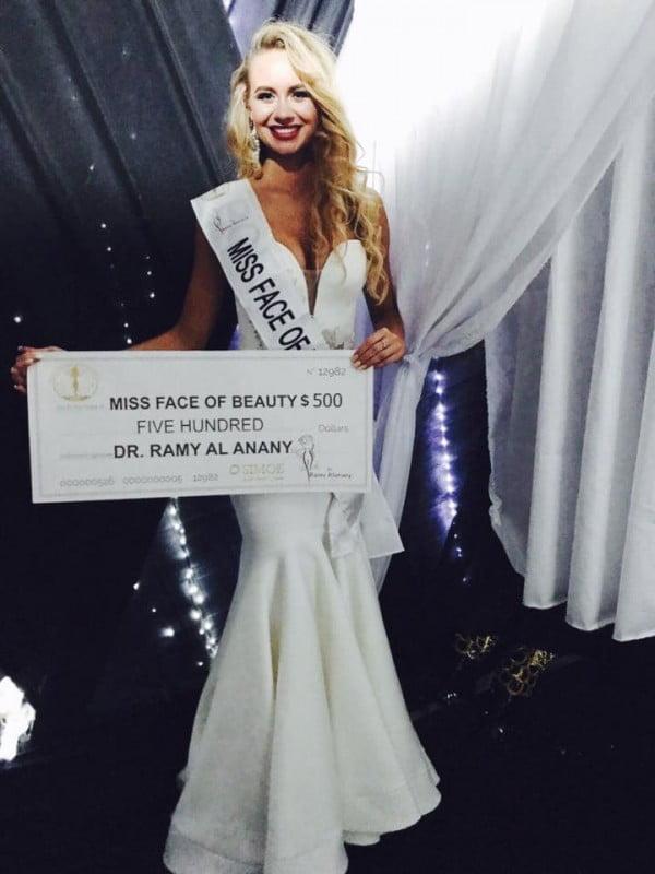 Natalia Popis z tytułem Miss Face of Beauty 2017