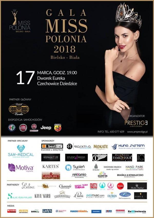 Finał Miss Polonia Bielsko - Biała 2018