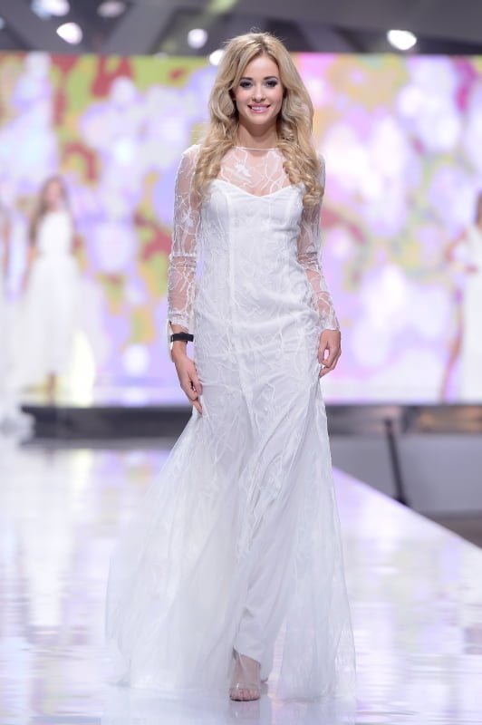 Wyjątkowy pokaz sukni ślubnych Agaty Wojtkiewicz na finale Miss Polonia