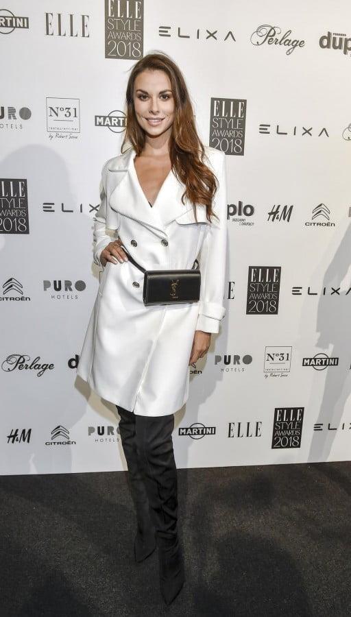 Agata Biernat na gali Elle Style Awards 2018