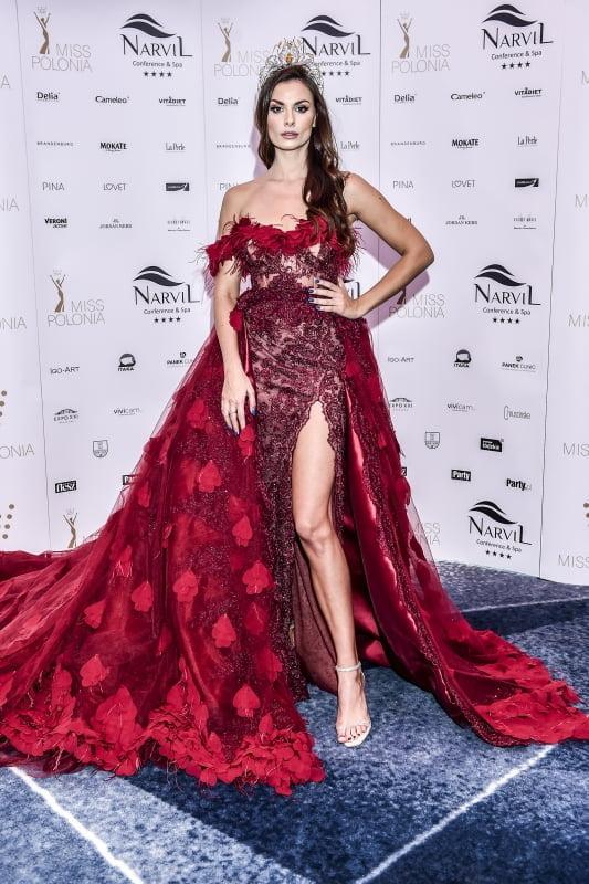 Prezentacja spektakularnej sukni Agaty Biernat na Miss World 2018