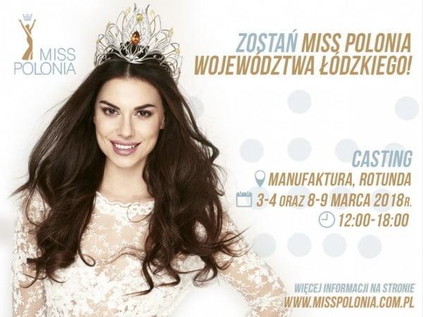 Casting Miss Polonia Województwa Łódzkiego 2018