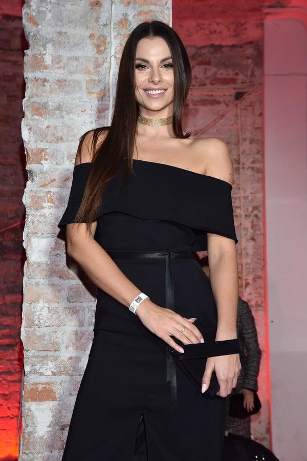 Agata Biernat na urodzinowej imprezie marki La Mania