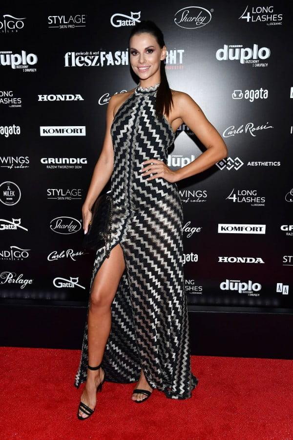Agata Biernat na gali Flesz Fashion Night