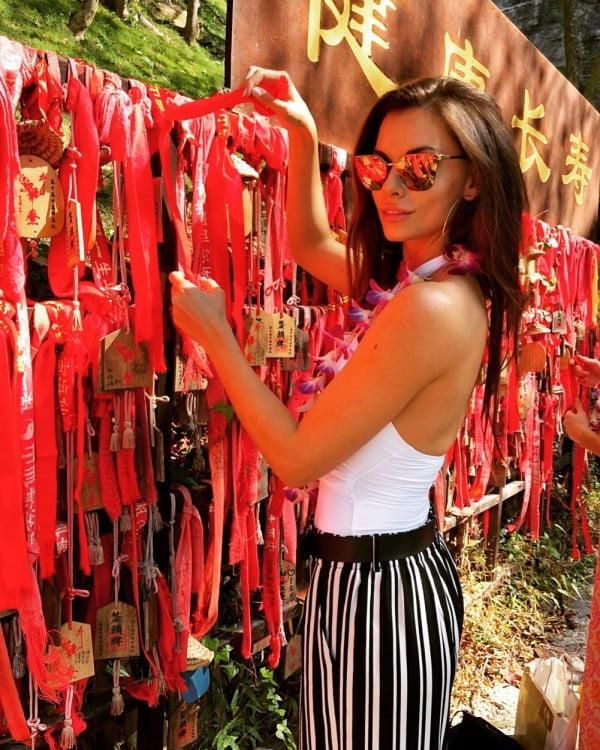 Agata Biernat na zgrupowaniu Miss World 2018 w Chinach