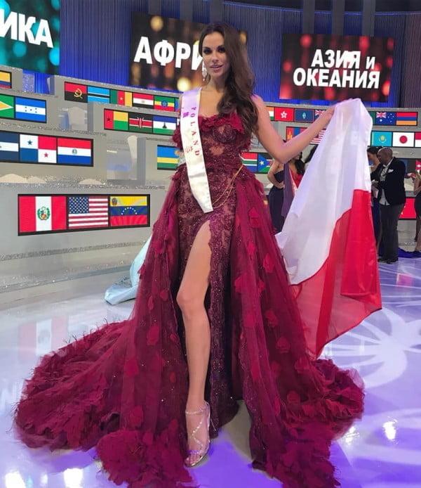 Finał Miss World 2018 z udziałem Agaty Biernat