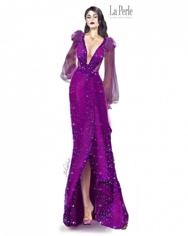 Suknia finałowa dla Patrycji Woźniak na Miss Grand International od La Perle