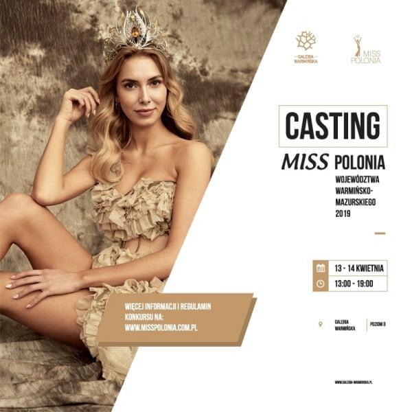 Zostań Miss Polonia Województwa Warmińsko-Mazurskiego 2019