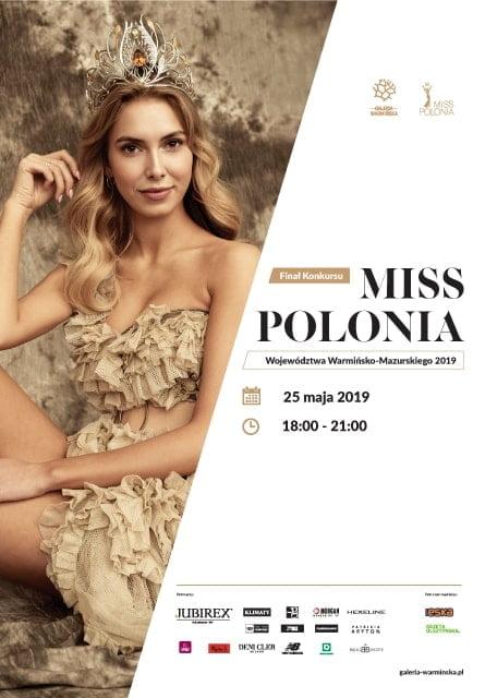 Finał Miss Polonia Województwa Warmińsko-Mazurskiego 2019
