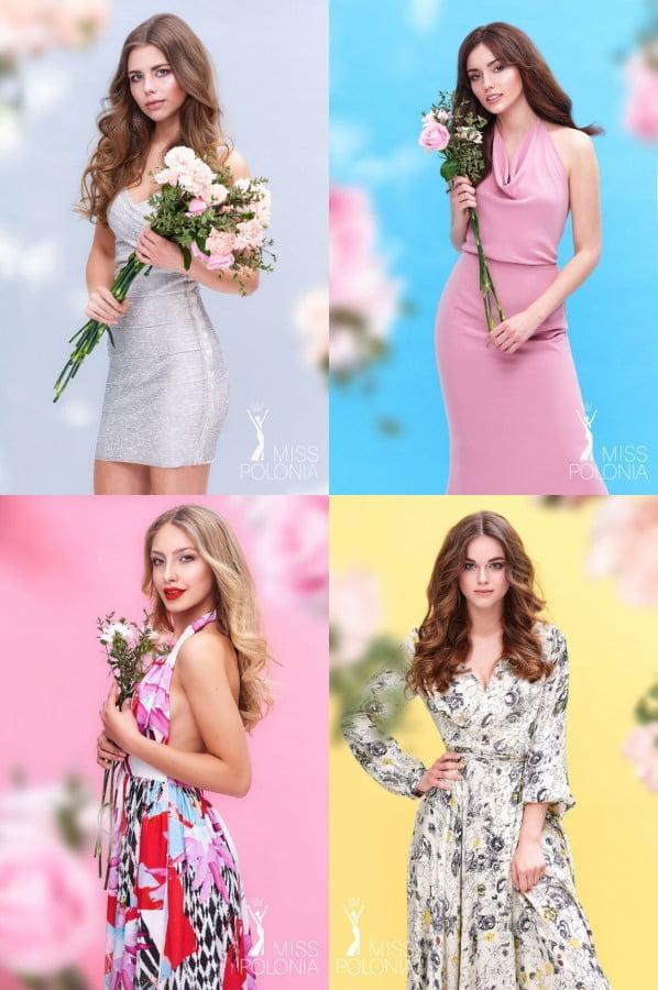 Finalistki konkursu Miss Polonia Województwa Łódzkiego 2018