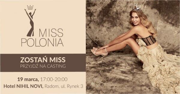 Casting na Miss Polonia Ziemi Radomskiej 2019