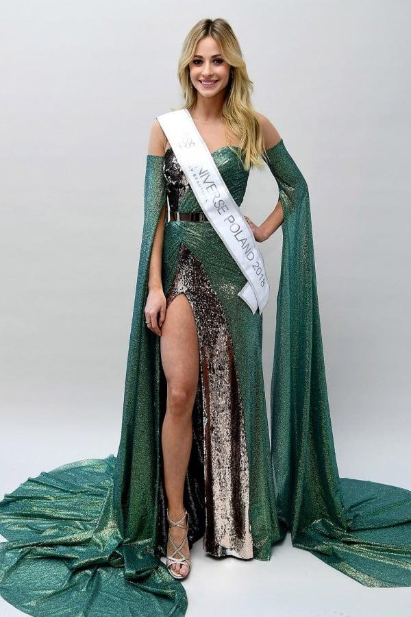 Prezentujemy kreacje Magdaleny Swat na finał Miss Universe 2018