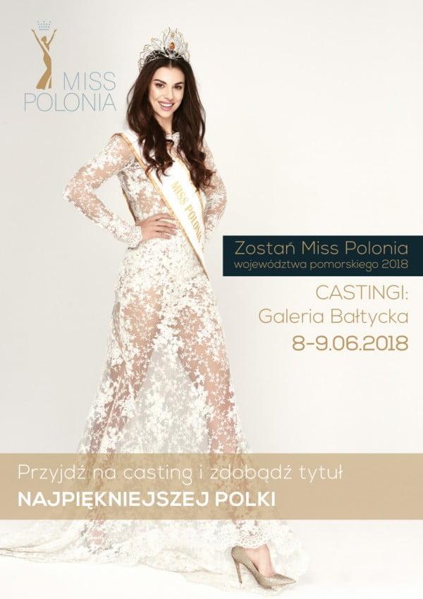 Casting do Miss Polonia Województwa Pomorskiego 2018