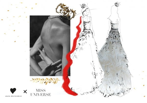 Projekty sukni dla Kasi Włodarek na wybory Miss Universe 2017