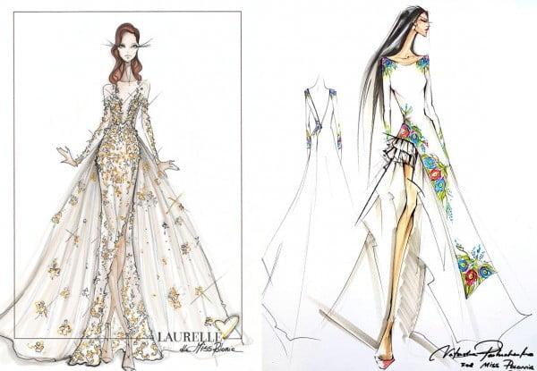 Projekty sukni Izabelli Krzan na Miss Universe 2016