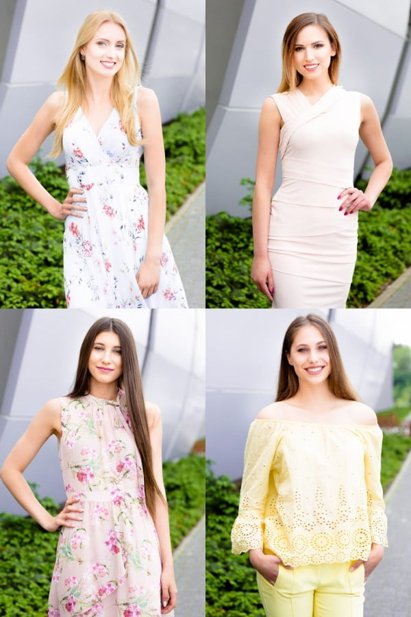 Oficjalne zdjęcia finalistek Miss Polonia Województwa Kujawsko - Pomorskiego