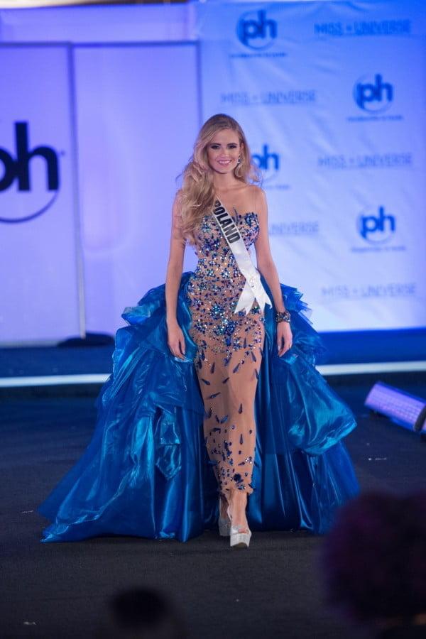 Kasia Włodarek na wyborach Miss Universe 2017 w Las Vegas
